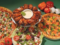 Pizzas, wings, sandwiches, salads, and more at Pizza Mambo